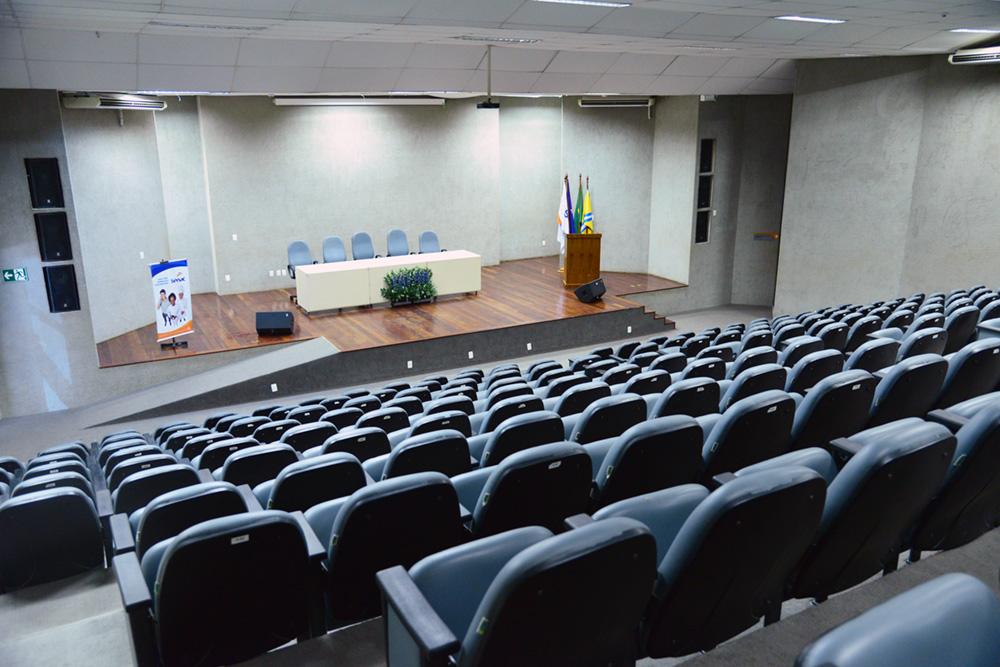 Auditório do Senac Paulista