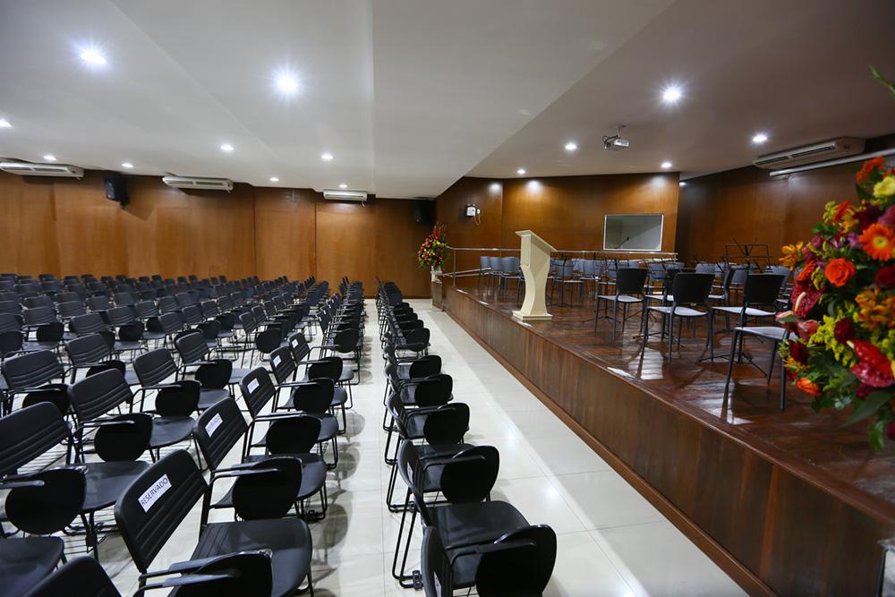 Auditório do Centro de Enogastronomia de Petrolina