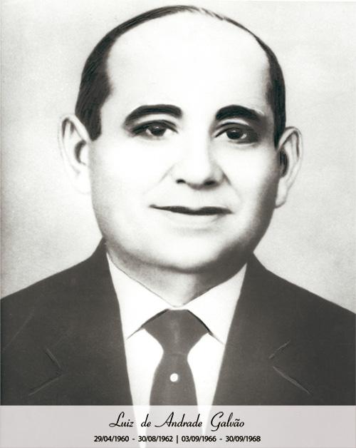 Luiz de Andrade Galvão - De 1960 a 1962 e 1966 a 1968