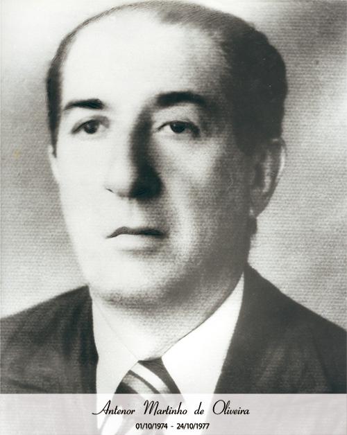 Antenor Martinho de Oliveira - De 1974 a 1977