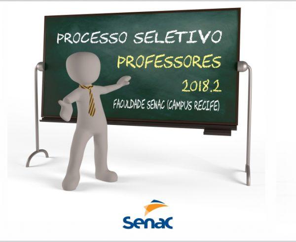 Seleção de professores para Faculdade Senac