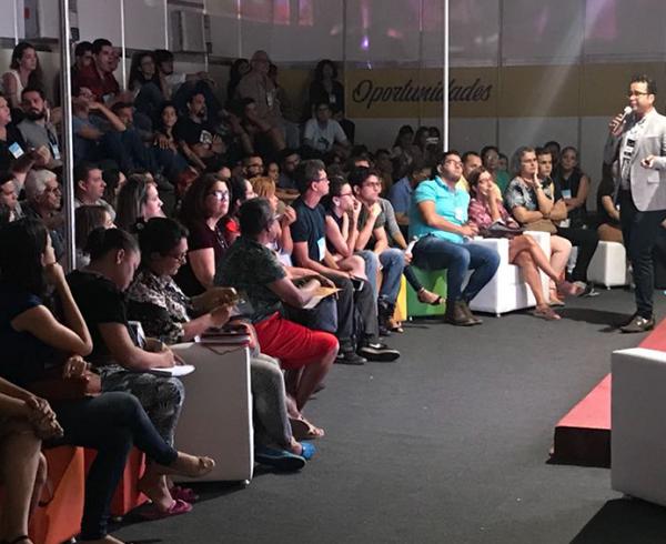 Robson Lustosa na Feira do Empreendedor 2018