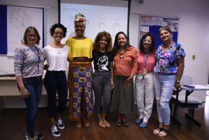 Palestra moda e etnicidade