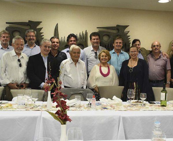 Cônsules de Pernambuco em almoço no Senac