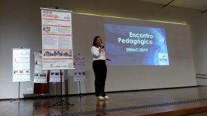 Elizama Costa apresentou projeto sobre restrição alimentar