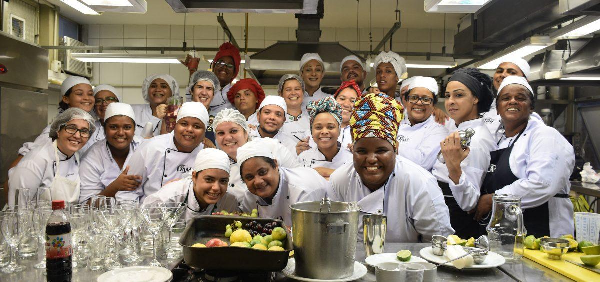 Diversidade na Cozinha na Faculdade Senac