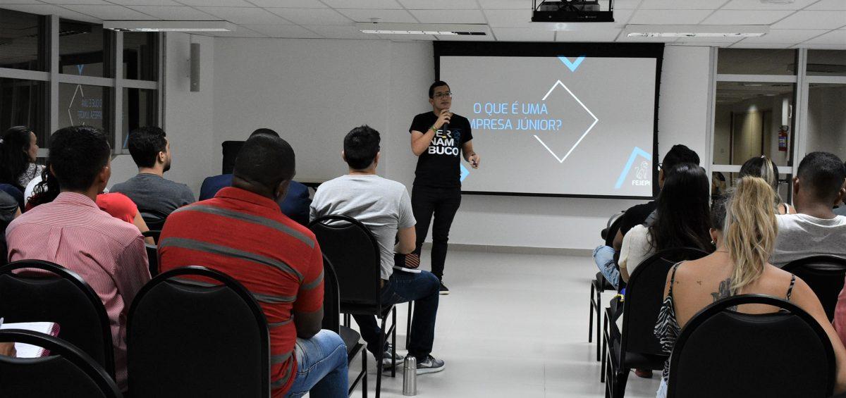 João Félix da Fejepe falou sobre o Movimento Empresa Júnior