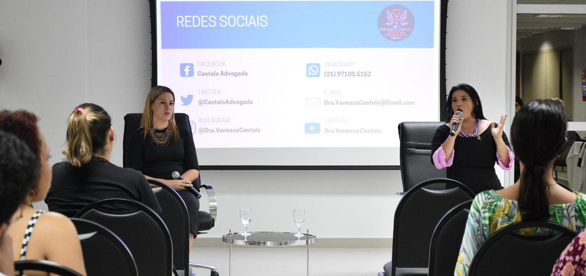 Violência contra mulher, feminicídio e assédio moral e sexual no ambiente de trabalho foram tema de palestra