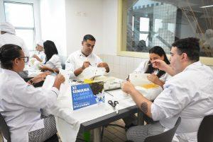 Semana do Meio ambiente envolveu colaboradores e alunos do curso de Cozinheiro