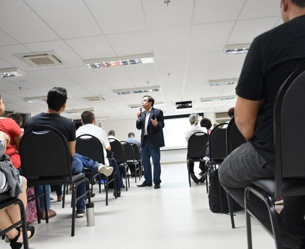 Empreendedorismo maduro foi tema de palestra com Marcos Primo