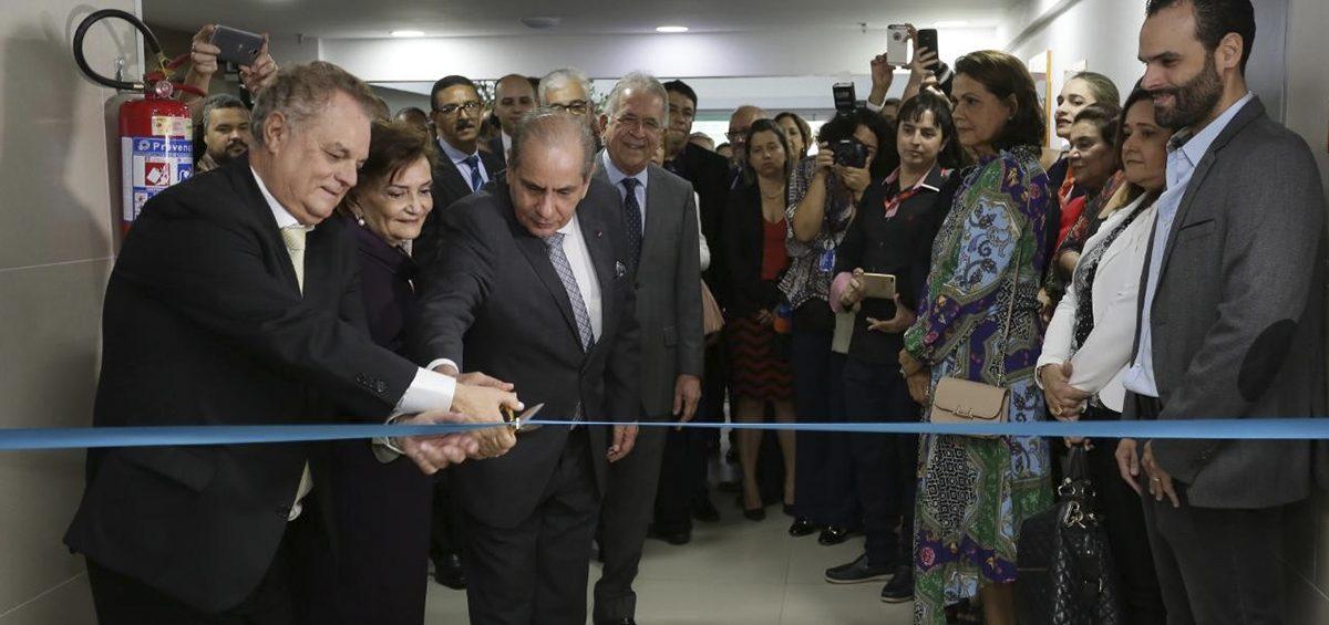 Inauguração da nova Faculdade Senac para autoridades