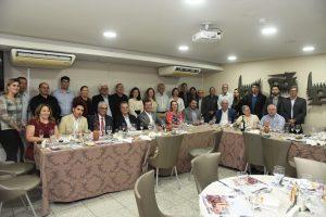 Evento foi prestigiado por representantes da Câmara do Recife, Assembléia Legislativa de Pernambuco e autoridades do Sistema S.