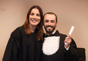Karina Fernandes e Rodrigo Ecles