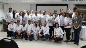 Alunos de Gastronomia na XVII Mostra de Extensão da Faculdade Senac