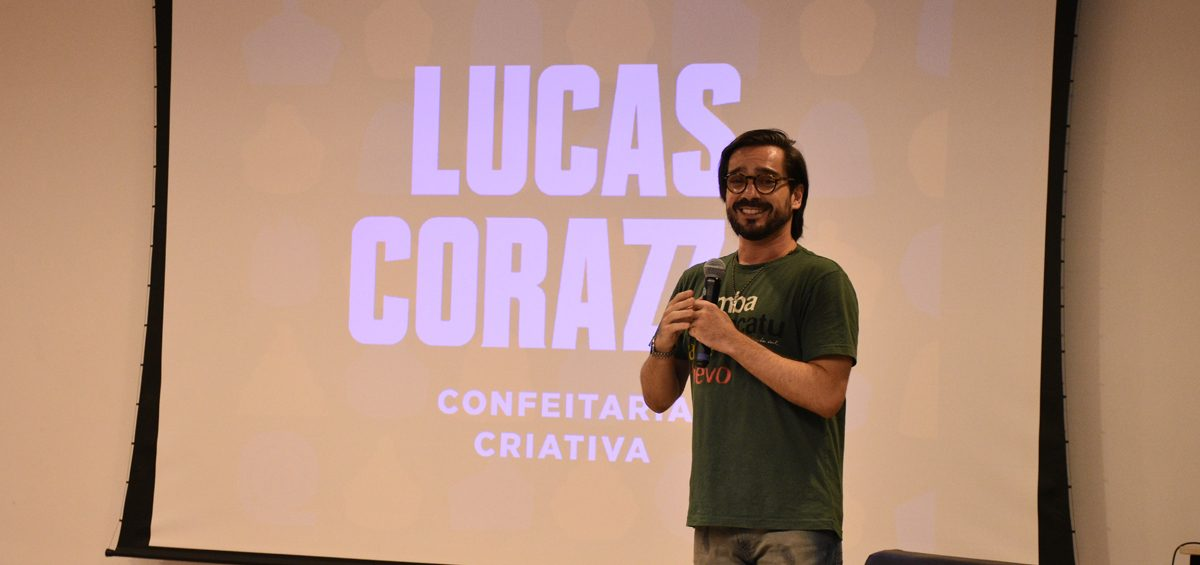 Lucas Corazza aborda confeitaria criativa na Faculdade Senac