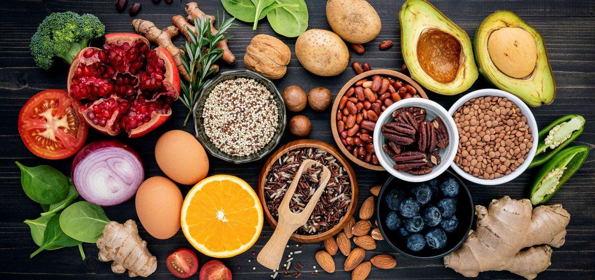 Ingredientes para reaproveitamento de alimentos