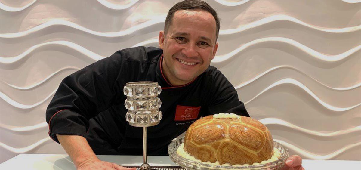 Receita de Torta de Bolo de Rolo Pernambucana com Luciano Chaves
