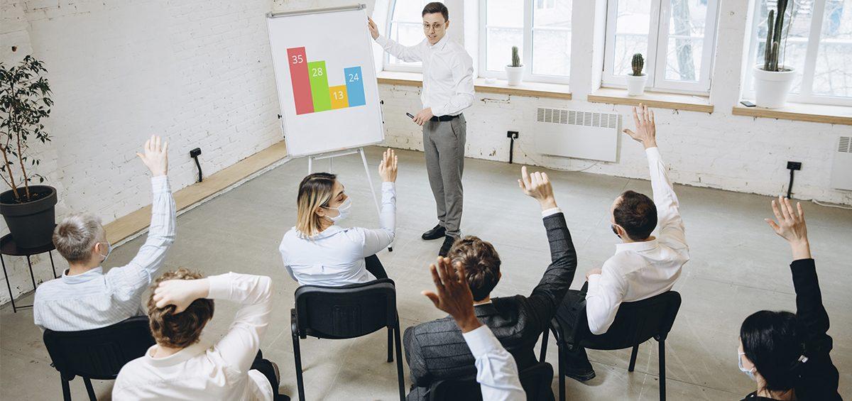 O Senac tem o Programa Soluções Corporativas, que oferece treinamento para grupos fechados